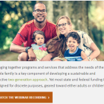 Funding to Coordinate Adult and Child Services Webinar
